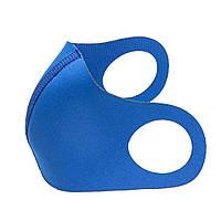 Маска-питта XoKo Basic с фиксакцией Голубая  размер S