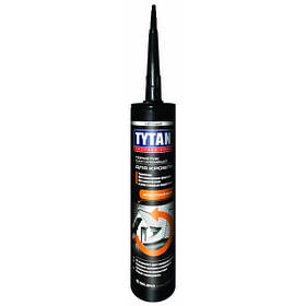 Герметик кровельный каучуковый Tytan прозрачный 310 мл