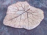 Тарілка велика Лист, фото 2