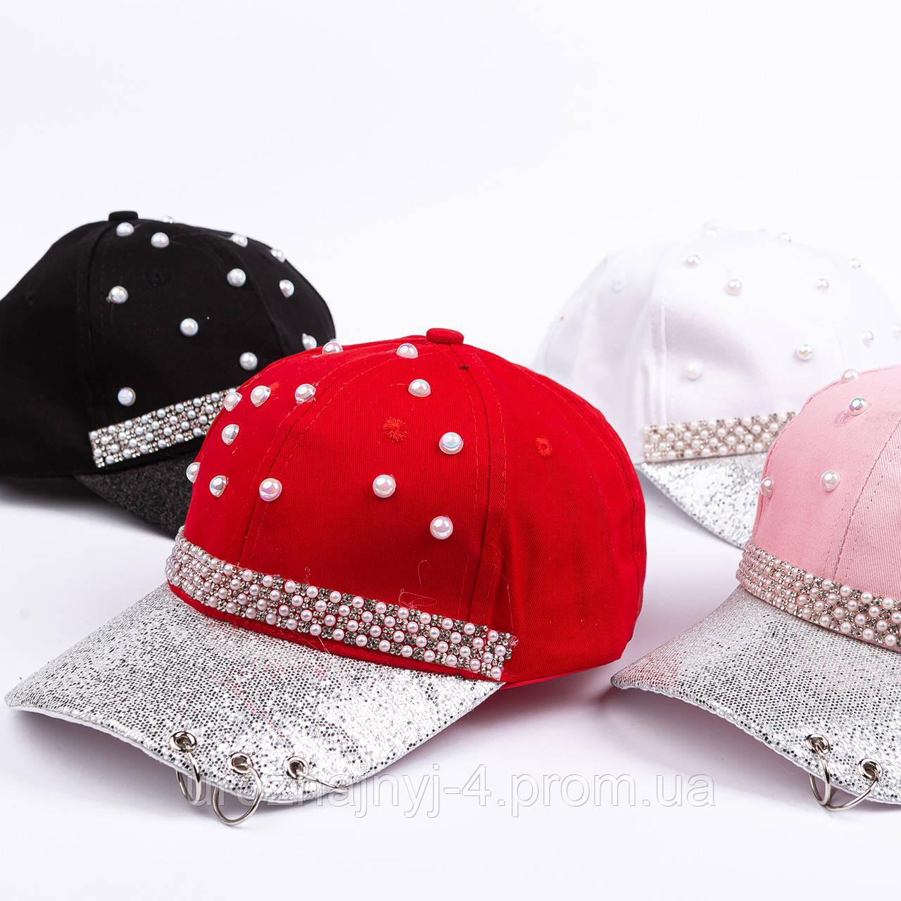 Котоновая кепка подростковая р54-56