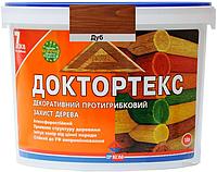Лазурь-лак антисептический ІРКОМ ДОКТОРТЕКС ІР-013 для древесины дуб 10л