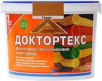 Лазурь-лак для древесины ИРКОМ ДОКТОРТЕКС ИР-013 антисептический груша 10л