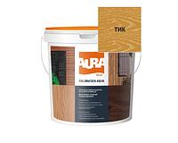Лазурь-лак алкидный AURA COLOR WOOD AQUA для древесины тик 0,75л