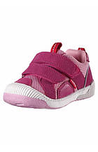 Демисезонные кроссовки для девочки Reima Knappe 569300-4620. Размеры 20  - 27.