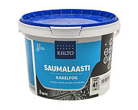 Затирка цементная KIILTO KESTO для швов плитки, №41 - средне-серая, 3кг