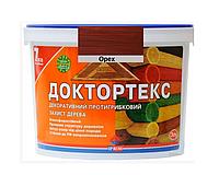 Лазурь-лак антисептический ІРКОМ ДОКТОРТЕКС ІР-013 для древесины орех 3л