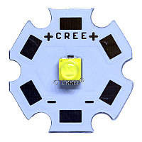 Високопотужний світлодіод T6-5W CREE 20мм Білий