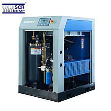 Компресор SCR 10 M (7.5 кВт, 1.1 м3/хв) ремінний привід, фото 2