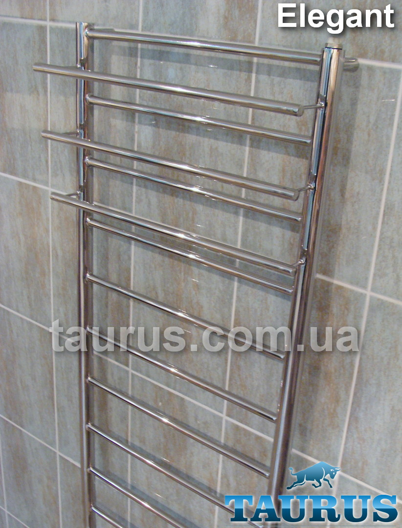 Практичный полотенцесушитель от производителя ТМ TAURUS -  Elegant 12/500 с полочками