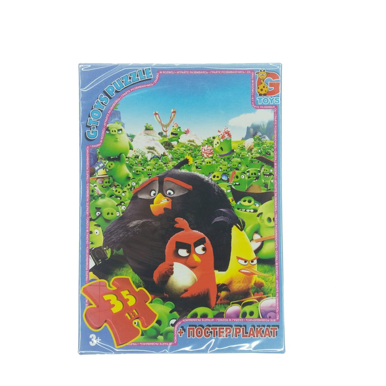 G-Toys Пазл 35ел Angry birds (B001029)