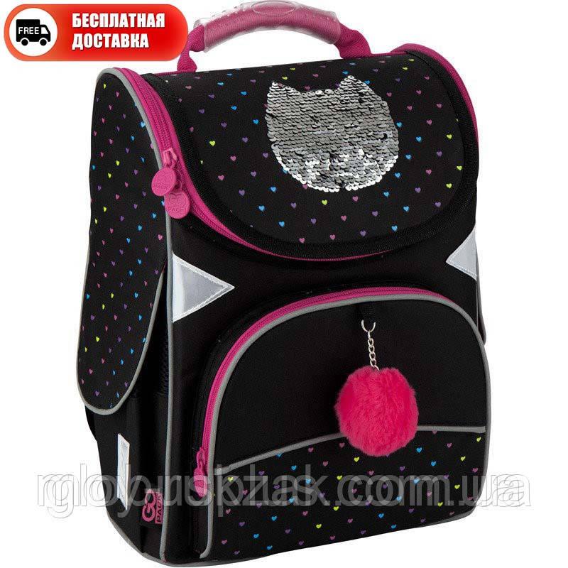 Рюкзак GoPack Education каркасный 5001-6 Shiny cat GO20-5001S-6