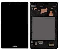 Дисплей  Asus ZenPad 8.0 Z380C/Z380KL + тачскрин, черный, с передней панелью серебристого цвета