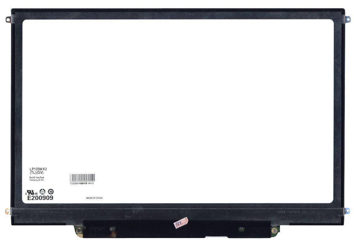 "Матрица для ноутбука 13,3"", Slim (тонкая), 30 pin (снизу справа), 1280x800, Светодиодная (LED), крепления"