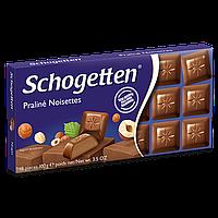 Шоколад Schogetten Praline Noisettes (Пралине нуга) 1ящ/15шт