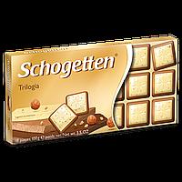 Шоколад Schogetten TRILOGIA (Трилогия) 1ящ/15шт