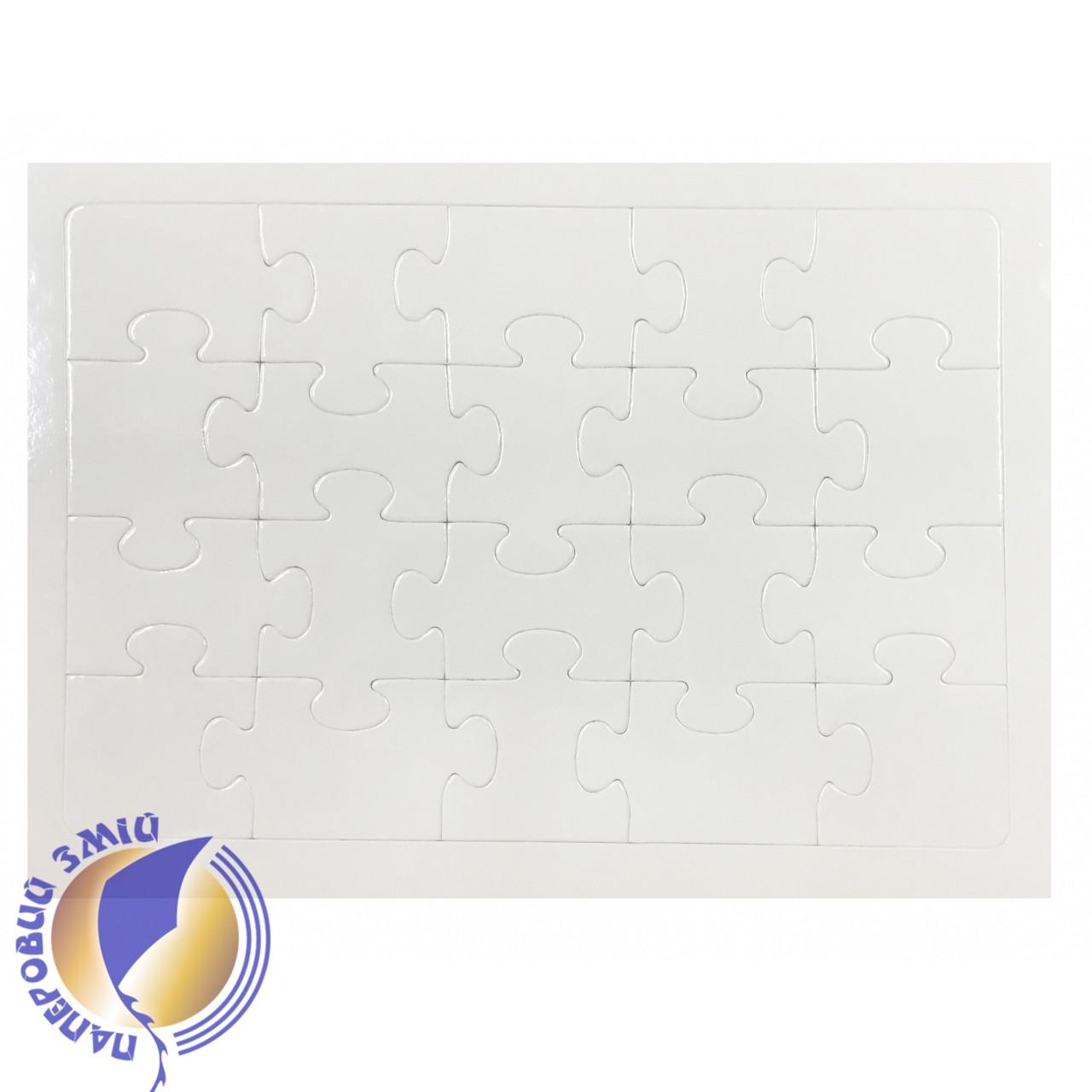 Заготовка пазла в рамке на горизонтальной подставке ( 20 эл.)