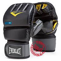 Перчатки снарядные ММА Everlast Evergel Wristwrap Heavy Bag Gloves