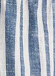 Комбинезон H&M комбинезон-шорты полоска синий лен, фото 2