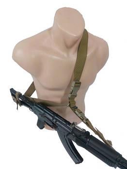 Ремень оружейный трехточечный Койот