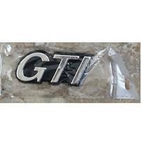 """Эмблема-надпись_""""GTI"""" на багажник_№30   (10шт/уп)"""