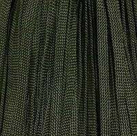 Шнур для одежды без наполнителя 6мм цв оливковый (уп 100м) 051Ф