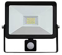 Светодиодный прожектор с датчиком движения LED  Flood Light 30Вт