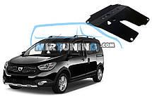 Защита двигателя Dacia Dokker 2012-2020