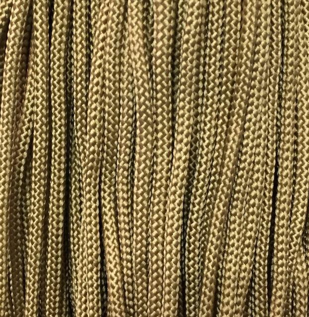 Шнур для одежды с наполнителем 5мм цв кофейный (уп 100м) Ф