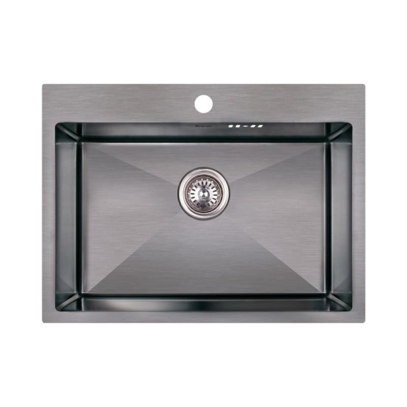 Кухонная мойка Imperial Handmade D5843BL 2.7/1.0 мм (IMPD5843BLPVDH10)