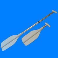Весло алюм. телескопичекое (1,2м - 0,5м) Италия (для каноэ или вспомогательное лодочное)