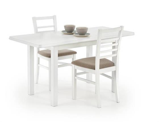 Стол обеденный Dinner 120*158 Белый (Halmar ТМ), фото 2