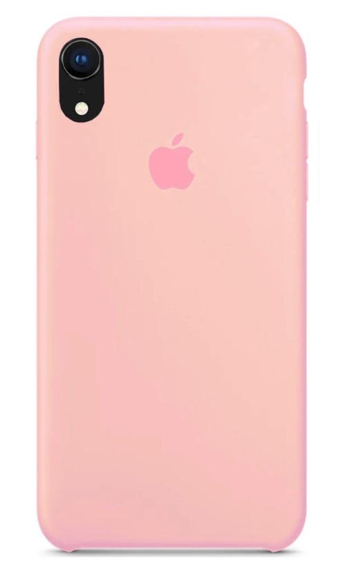 Задняя накладка Hi-Copy Silicone Case APPLE IPHONE XR (№6 PINK)