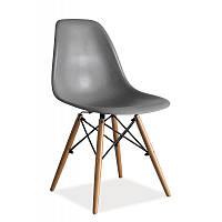 Пластиковые стулья Стул Enzo Серый 84859, цвет - серый