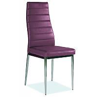 Стул из кож-зама Стул H-261 Фиолетовый 35987, цвет - фиолетовый