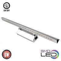 LED Подсветка для картин HOROZ ELECTRIC HL6652L ALBATROS 6W 4200K хром 500Lm 555mm IP45