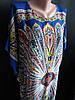 Кимоно (халат из штапеля) прямого пошива