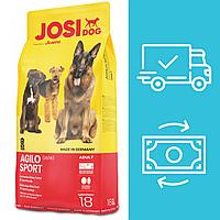 Корм Йозера Йозі Дог Аджило Спорт Josera Josi Dog Agilo Sport для спортивних та активних собак 18 кг