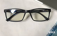 Компьютерные очки в прямоугольной черной оправе. Модель ЕАЕ 8003, фото 1