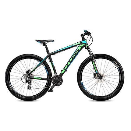 "Велосипед 27,5"" CROSS GRX рама 20"" 2018 зеленый, фото 2"