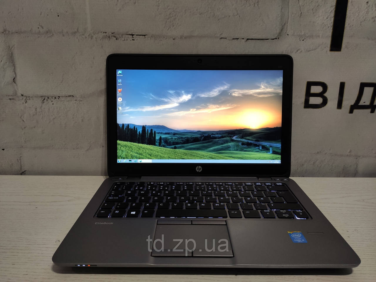 """Ноутбук HP Probook 820 G2 12.5"""" /Intel Core i5-5300u/ DDR3 8Gb/SSD 128Gb/Intel HD Graphics 5500"""