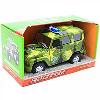Машинка ігрова Автопром Позашляховик (Збройні сили) зі світловими і звуковими ефектами (7659-3), фото 2
