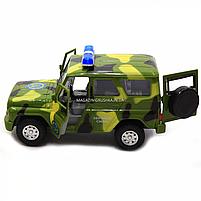Машинка игровая Автопром Внедорожник (Вооруженные силы) со световыми и звуковыми эффектами (7659-3), фото 4