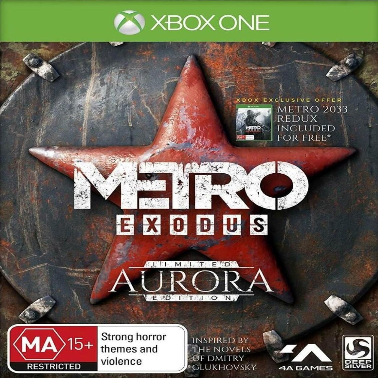 Metro Exodus Aurora Limited Edition (російська версія) Xbox One