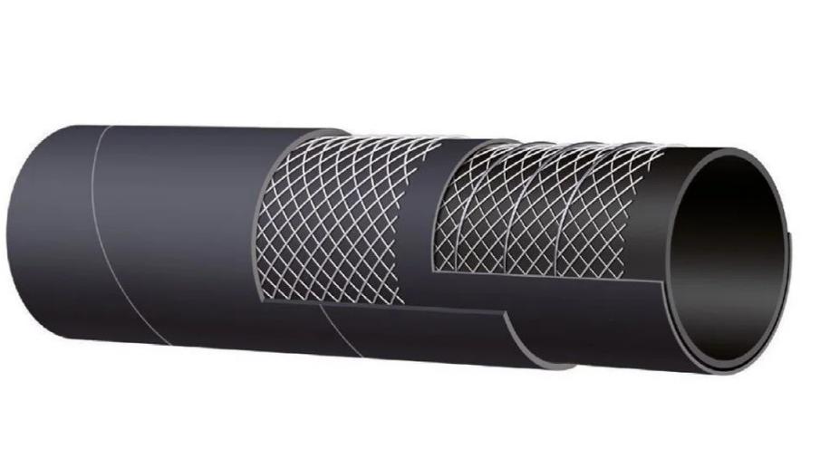 Рукав МБС ALFAGOMMA 605 AA напорно-всасывающий маслобензостойкий 32 мм
