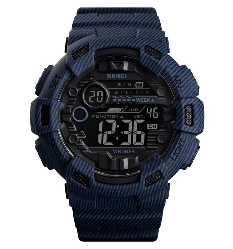 Skmei 1472 Champion джинс чоловічі спортивні годинник