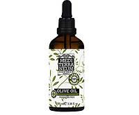Косметическое масло оливковое для тела и волос на 100 % натуральное Mediterraneum Nostrum OLIVE OIL 100 ml