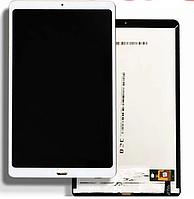 Дисплей  Xiaomi Mi Pad 4 Plus + тачскрин, белый, со шлейфом сканера отпечатка пальца (Touch ID), оригинал
