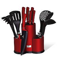 Набор ножей и кухонных принадлежностей 13 пр. Berlinger Haus Metallic Line Burgundy Edition BH 6248