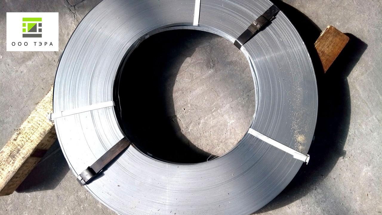 Лента оцинкованная х/к 0.45 х 27 мм