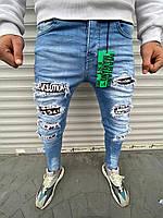 Мужские джинсы Mariano 1086 blue